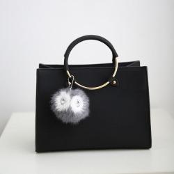 Costbuys  New Women Bag Fashion PU Leather Women's Handbags Bolsas Top-Handle Bags Tote Women Shoulder Messenger Bag - Black
