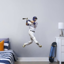 """Christian Yelich for Milwaukee Brewers - Officially Licensed MLB Removable Wall Decal Giant Athlete + 2 Decals (32""""W x 51""""H) by"""