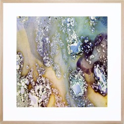 Minerology 1 Acrylic Print With Frame