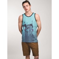 MENS GOOD TIMES TANK - AQUA-WL- CLEARANCE