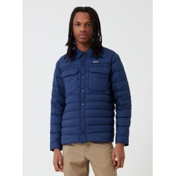 Patagonia Silent Down Shirt Jacket - Classic Navy Blue found on Bargain Bro UK from URBAN EXCESS LTD: UrbanExcess.com / Article-London.com