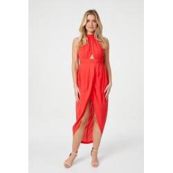 Halter Neck Wrap Dress found on Bargain Bro UK from Izabel London UK