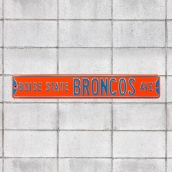 Boise State Broncos: Boise State Broncos Avenue - Officially Licensed Metal Street Sign by Fathead | 100% Steel
