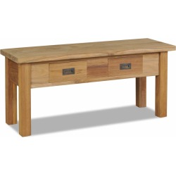 Hall Bench Solid Teak 90 x 30 x 40 Cm found on Bargain Bro India from Simply Wholesale for $123.09