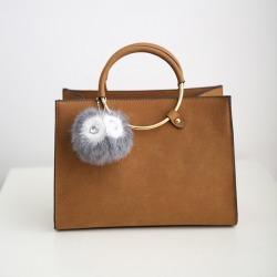 Costbuys  New Women Bag Fashion PU Leather Women's Handbags Bolsas Top-Handle Bags Tote Women Shoulder Messenger Bag - Brown