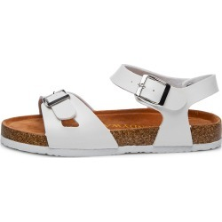 438aebcb9ce Costbuys Summer Fashion Unisex Lovers Women Sandals Flats Cork Gladiator  Beach Shoes Slippers - White