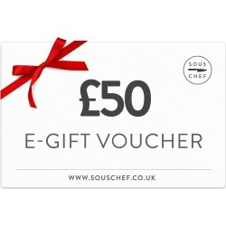 Sous Chef Gift Voucher - £50.00 found on Bargain Bro UK from Sous Chef
