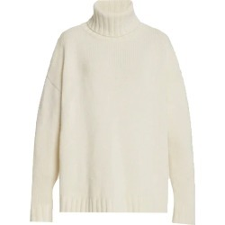 Nili Lotan Women's Brently Turtleneck Sweater Top in Ivory size Small found on MODAPINS from kirna zabete for USD $895.00