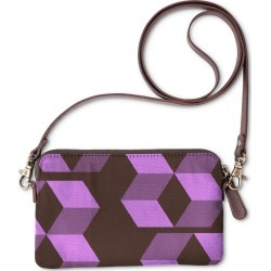 Statement Clutch - Abstracts By Cat #1 in Purple by PRIDE Original Artist