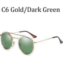 Costbuys  2018 women Round  HD Polarid sunglasses 3647 hot rayeds men Driving car male sun glasses UV400 - 0915 C4 / 0915 C6 found on Bargain Bro India from cost buys for $103.50