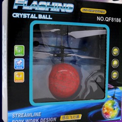 Costbuys Induction Fly Flash Ball Toys USB Charging Remote Control RC Helicopter Flying Quadcopter Drone Fairy Doll Best Kids G