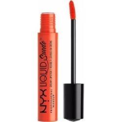 NYX Liquid Suede Cream Lipstick - Orange County - #LSCL05