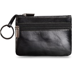 Costbuys  Genuine Leather Coin Purse High Quality Women Purse Small Wallet Zipper Mini Key Holder Men Card Holder Bags Money Coi