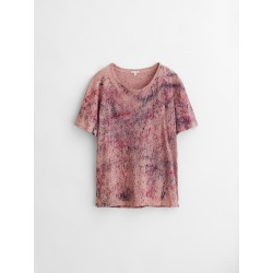 Alex Mill Limited Run: Natural Dye Tee in Botanical Speckled Berry - Botanical Speckled Berry M found on MODAPINS from Alex Mill for USD $85.00