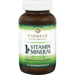 1 + Vitamin Mineral 120 Tabs by Pioneer Nutritionals found on Bargain Bro from Herbspro - Dynamic for USD $36.70