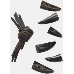 Brown Horn Toggles found on Bargain Bro UK from Gloverall