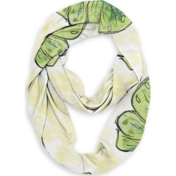 Infinity Eco Scarf - Green Butterfly by VIDA Original Artist found on Bargain Bro India from SHOPVIDA for $45.00
