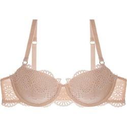 Stella McCartney Rachel Shopping Balconnet Bra in Peony, Size 36E found on MODAPINS from Journelle.com for USD $120.00