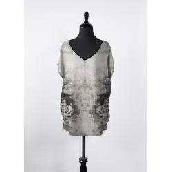 Women's V-Neck Top - Irish Mist Essential Tee by VIDA Original Artist found on Bargain Bro India from SHOPVIDA for $150.00