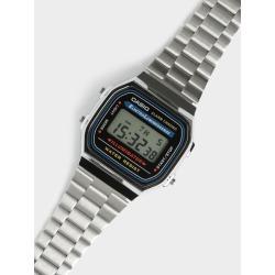 Casio Metal - Mens A168WA-1 Illuminator Digital Watch in Silver