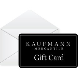 Kaufmann Mercantile Gift Card found on Bargain Bro Philippines from kaufmann-mercantile for $100.00