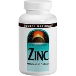 Zinc Amino Acid Chelate 100 Tabs by Source Naturals found on Bargain Bro from Herbspro for USD $6.06