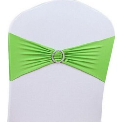 Costbuys  Chair Cover Party 1/5Pcs Chair Buckle Decor Banquet Elasticity Wedding Sashes Band Bow - Green5 found on Bargain Bro India from cost buys for $43.05