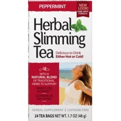 Herbal Slimming Tea Peppermint 24 Bags by 21st Century found on Bargain Bro India from Herbspro for $4.05