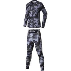 Costbuys  Kids Men compression running pants shirts sets sports survetement football soccer training tights basketball leggings