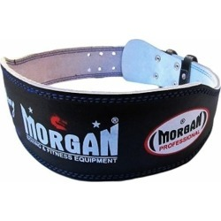 Morgan Professional 10 Cm Wide Leather Weight Lifting Belt