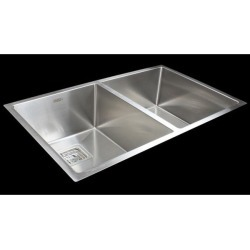 Handmade 1.5mm Stainless Steel Kitchen Sink with Square Waste found on Bargain Bro from Simply Wholesale for USD $380.74