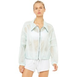 Stitch Jacket in Marine, Size: Small | Alo Yoga� found on Bargain Bro from Alo Yoga for USD $91.20