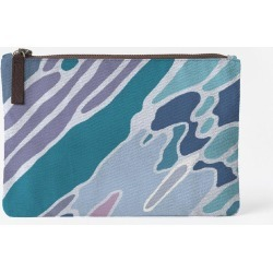 Carry-All Pouch - Flow Up Juul Pouch in Blue/Green by VIDA Original Artist