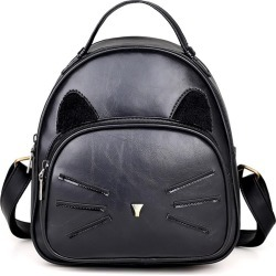 Costbuys  New Women Backpack Hot Fashion PU Leather Bag For Teenager Girls Women Backpack School Bags Top-handle Ladies Backpack