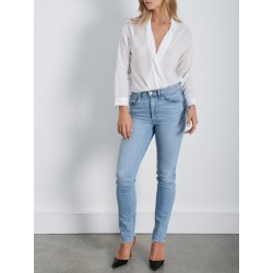 3X1 Moxy Wrap Shirt L / White found on MODAPINS from theundone.com for USD $156.14