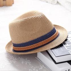 afd19ac55b66d Costbuys Summer Jazz Women Straw Hat Beach Men Sun Hat Casual Panama Male  Cap Hemp Rope