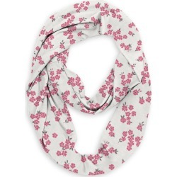 Infinity Eco Scarf - Cream & Pink Floral Ditsy by VIDA Original Artist found on Bargain Bro India from SHOPVIDA for $45.00