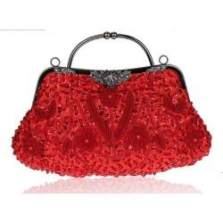 Costbuys  Women Bag Fashion Evening Bag Party Clutch Handbag Slap-up Shiny Bride Purse Wedding Woman Birthday Gift For Women - r