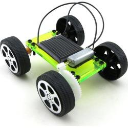 Costbuys  1 Set Mini Funny Solar Powered Toy DIY Car Kit Children Educational Gadget Hobby Toys Solar Energy Car
