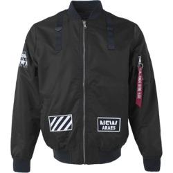 Costbuys  Windbreaker outdoor waterproof rain jacket women coat clothes spring baseball men american football - Black / S