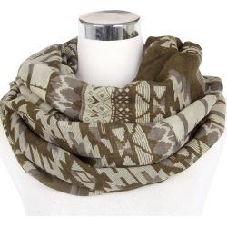 Costbuys  Winter Geometric Tribal Aztec Infinity Scarf Loop Snood For Women/Ladies - B