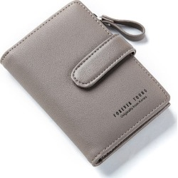 Costbuys  women Wallet Key Case Key Holder Wallet Coin Purse  Housekeeper Car Key Organizer Bag Small Portfolio - Gray