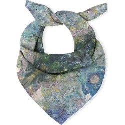 Multi-Use Cotton Scarf - Blue Shades by VIDA Original Artist found on MODAPINS from SHOPVIDA for USD $55.00