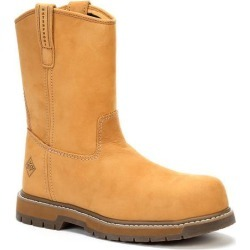 Men's Comp Toe Wellie Wide Width Boot in Wheat | 7.5 | The Original Muck Boot Company