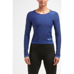 2XU XCTRL Engineered Crop Long Sleeve Top - Women's found on MODAPINS from The Last Hunt for USD $54.26