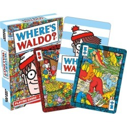 Wheres Waldo Playing Cards 52 Card Deck + 2 Jokers found on GamingScroll.com from Toynk Toys for $7.39