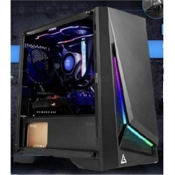 Antec Dp301M Matx Argb Front Led Tempered Glass Side Gaming Case