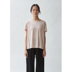 Acne Studios Eldora Linen Tee Pale Pink Size: Small found on MODAPINS from la garconne for USD $160.00