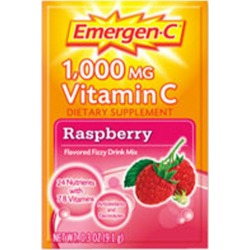 Alacer Emergen-C Vitamin C Drink Mix - Raspberry 10 pkts