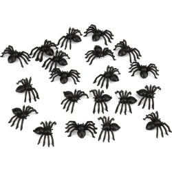Costbuys  Scary Plastic Spider Trick Halloween Haunted House Prop Decoration Haunted Fun Antistress Novelty Funny Gadgets Anti S